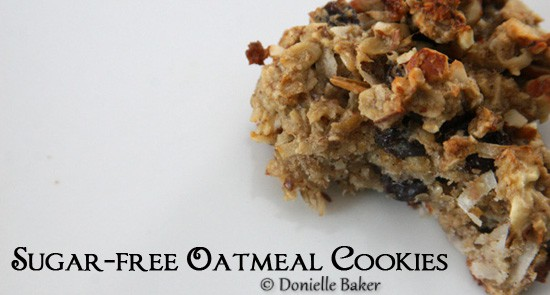 sugar free oatmeal cookie