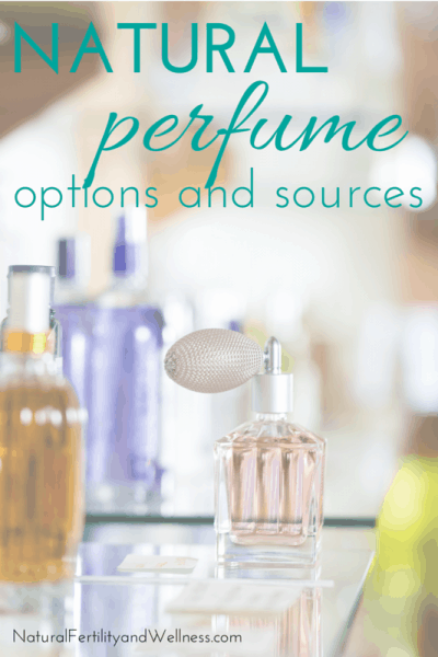 Options and sources for natural perfume