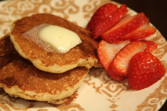 gluten free sourdough pancake