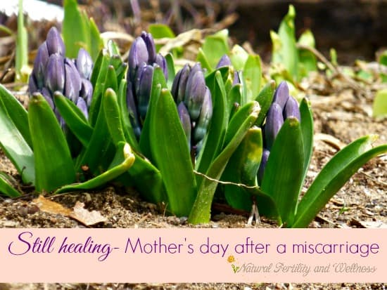 Mother's Day after a miscarriage