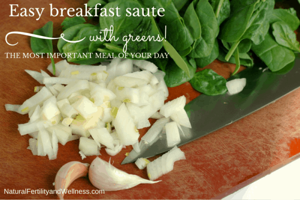 easy breakfast saute