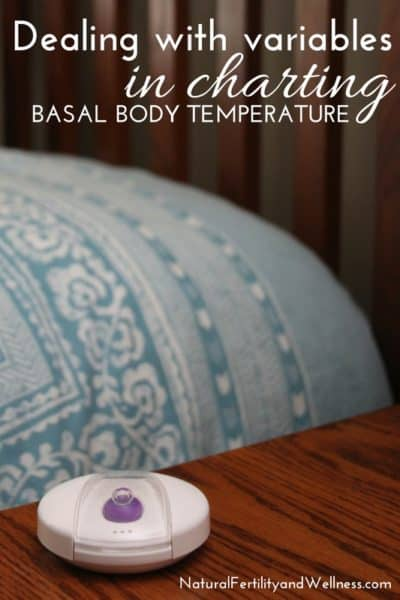 taking your basal body temperature