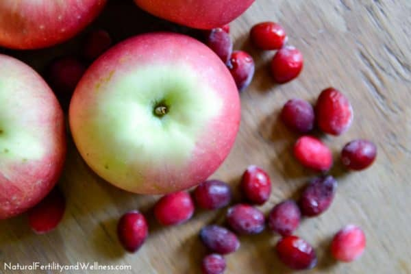 apple cranberry dessert